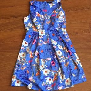 Eloquii Sleeveless Purple Dress